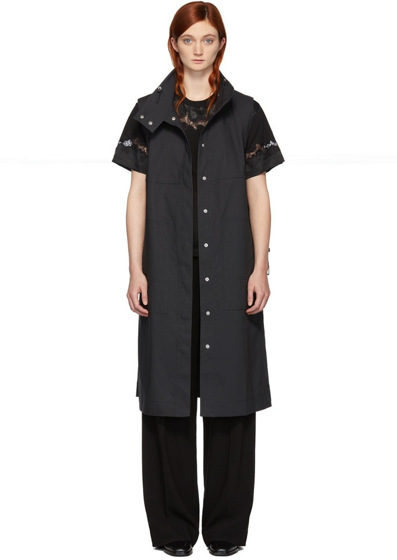 3.1 Phillip Lim Grey Trench Vest