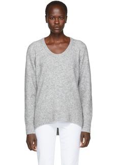 3.1 Phillip Lim Grey Wool & Alpaca Sweater