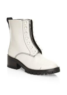 3.1 Phillip Lim Hayett Faux-Pearl Lug Sole Boots