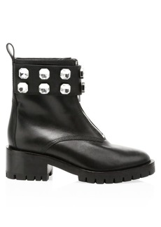 3.1 Phillip Lim Hayett Jewelled Leather Combat Boots