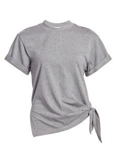 3.1 Phillip Lim Heathered Side-Tie T-Shirt