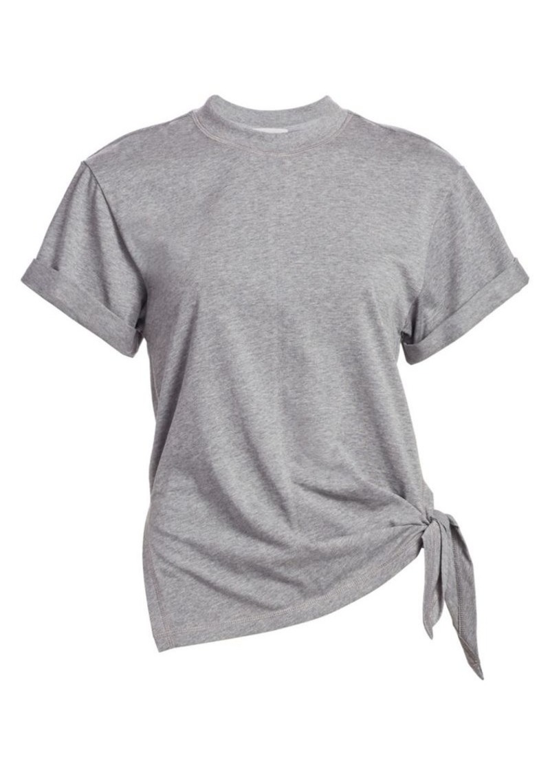 3.1 Phillip Lim Heathered Side-Tie T-Shirt