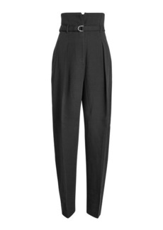 3.1 Phillip Lim High-Waist Pants with Virgin Wool