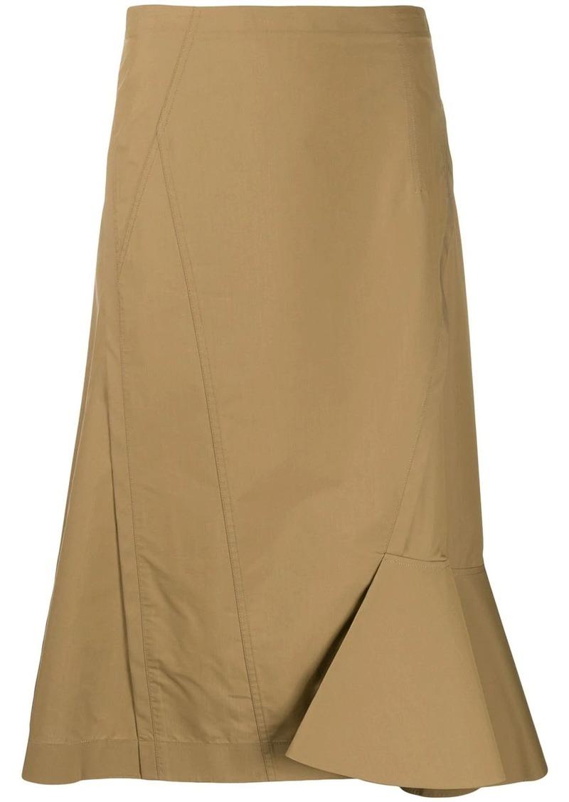 3.1 Phillip Lim high-waisted asymmetric ruffled skirt
