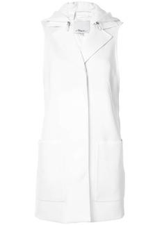 3.1 Phillip Lim hooded concealed fastening vest