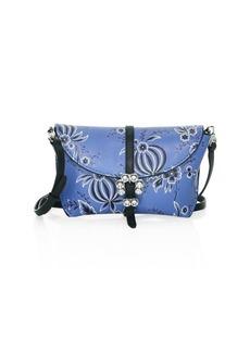 3.1 Phillip Lim Hudson Floral Leather Crossbody Case