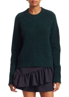 3.1 Phillip Lim Inset Shoulder Crewneck Sweater