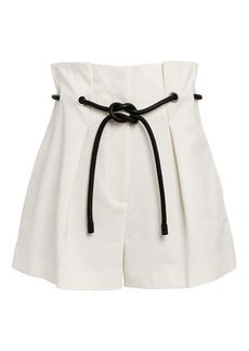 3.1 Phillip Lim Origami Pleated Paperbag Shorts