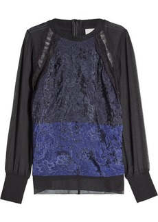 3.1 Phillip Lim Lace Front Top