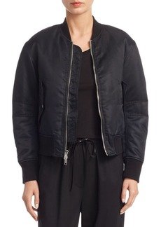 3.1 Phillip Lim Lace-Up Bomber Jacket