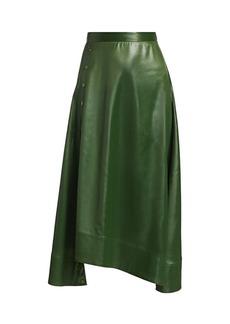 3.1 Phillip Lim Lacquered Midi Skirt