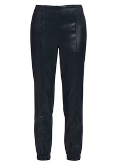 3.1 Phillip Lim Lacquered Tailoring Joggers