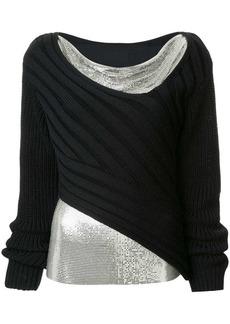 3.1 Phillip Lim layered mesh jumper