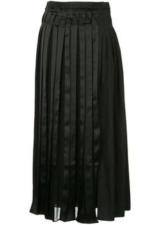 3.1 Phillip Lim layered pleated skirt