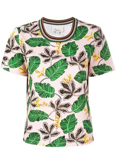 3.1 Phillip Lim leaf print T-shirt