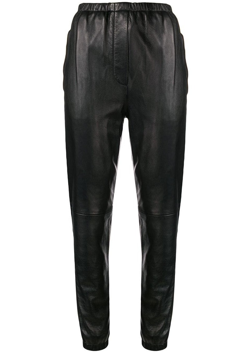 3.1 Phillip Lim Leather Track Pant