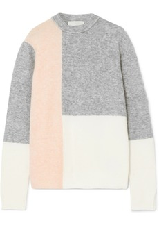 3.1 Phillip Lim Lofty Color-block Knitted Sweater