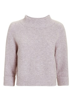 3.1 Phillip Lim Lofty Ribbed Lavender Pullover