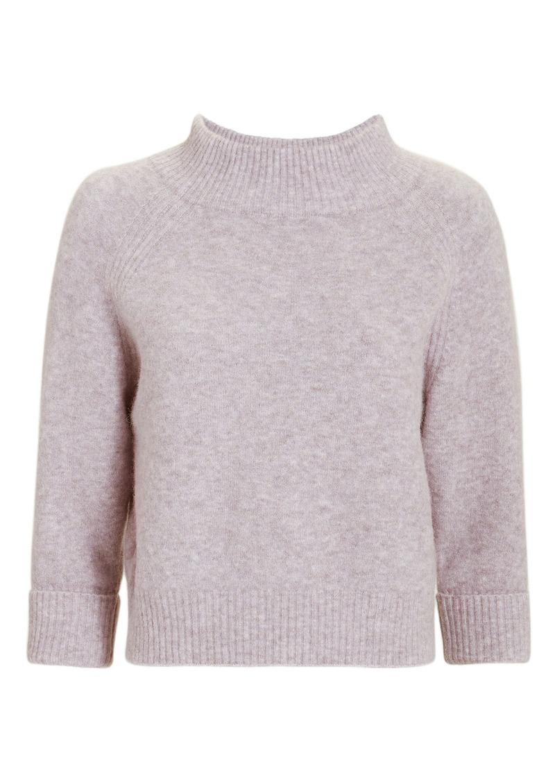 3.1 Phillip Lim Lofty Ribbed Lavender Pullover