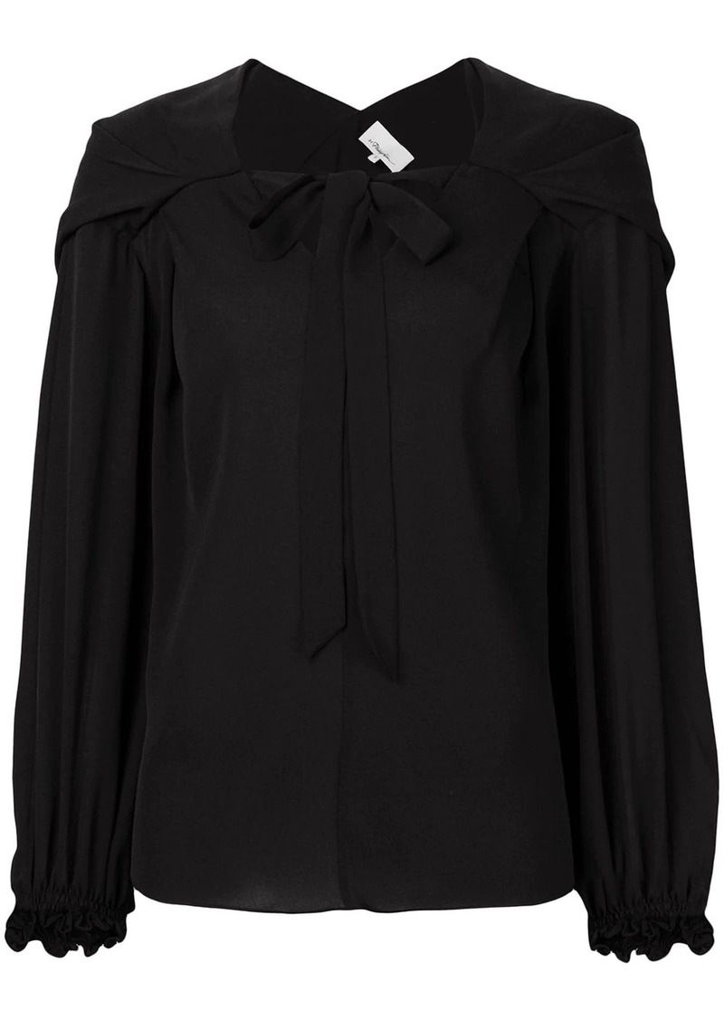 3.1 Phillip Lim Long Full Sleeve Blouse