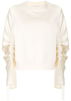 3.1 Phillip Lim Long Gathered Sleeve Pullover
