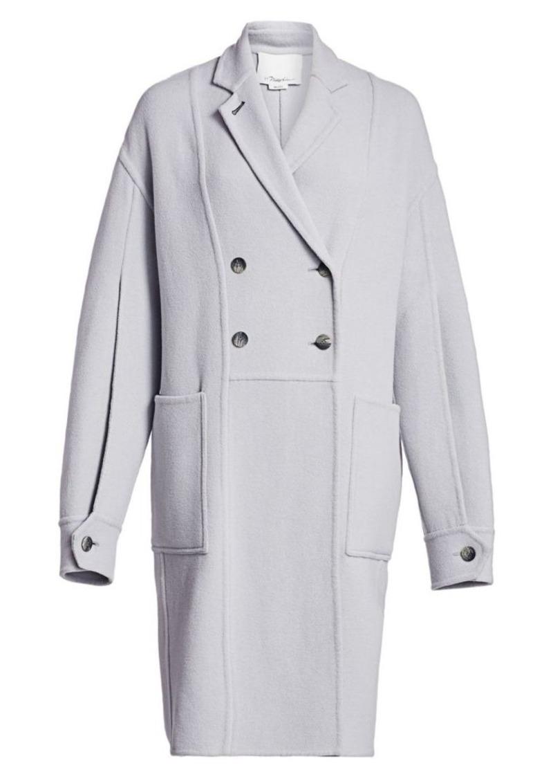 3.1 Phillip Lim Long Oversized Split-Sleeve Coat