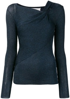 3.1 Phillip Lim Long Sleeve Draped Pullover
