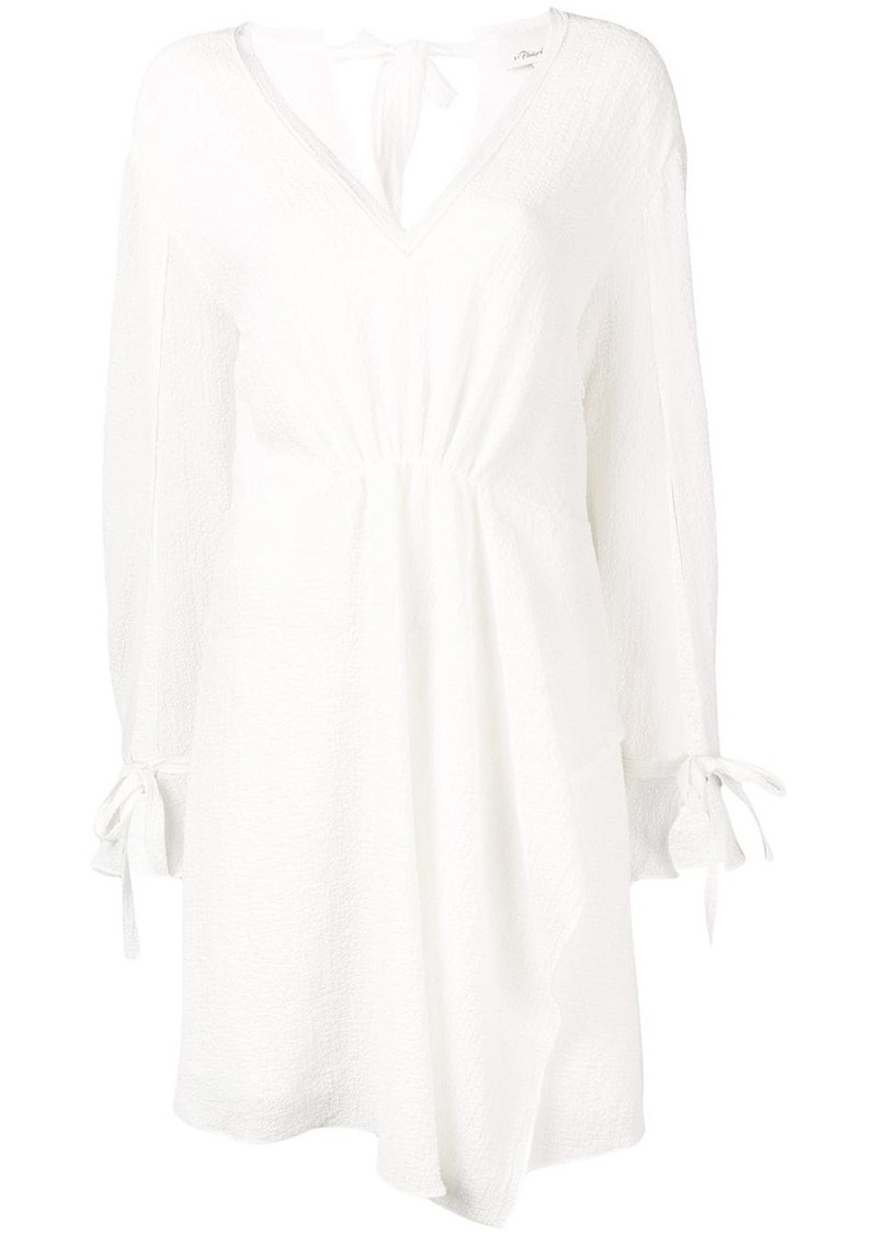3.1 Phillip Lim Long Sleeve Dress With Ties