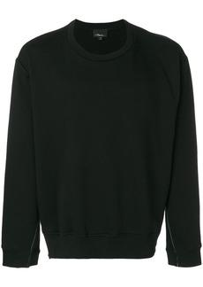 3.1 Phillip Lim Long-sleeve re-constructed sweatshirt