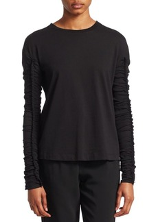 3.1 Phillip Lim Long-Sleeve Ruffle Blouse