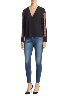 3.1 Phillip Lim Long-Sleeve Silk Blouse