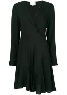 3.1 Phillip Lim long-sleeve wrap flared dress