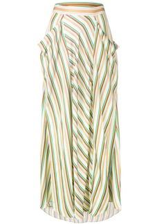 3.1 Phillip Lim long striped skirt