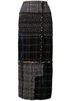 3.1 Phillip Lim long tweed skirt