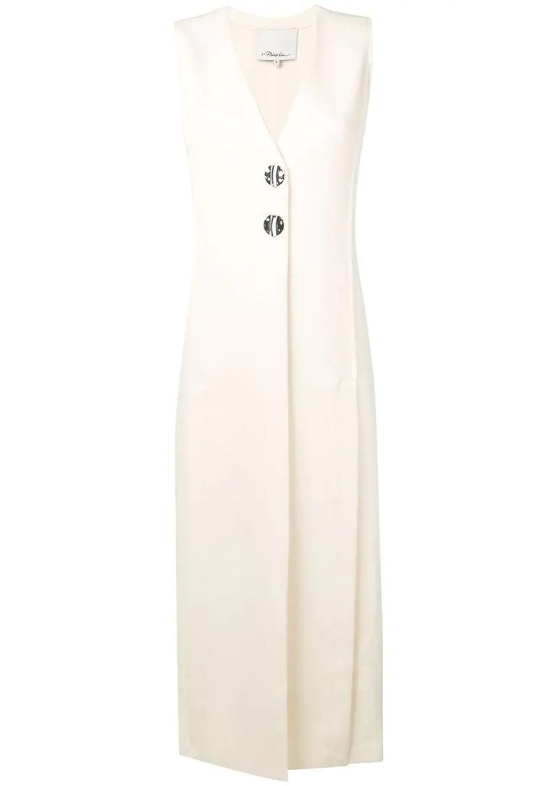 3.1 Phillip Lim Long Vest Dress With Slits