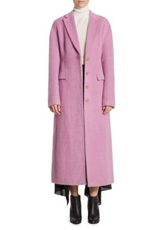 3.1 Phillip Lim Long Wool-Blend Coat