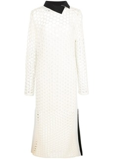 3.1 Phillip Lim chunky open knit maxi dress