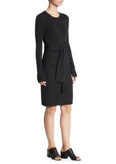 3.1 Phillip Lim Lurex Rib Tie-Waist Dress