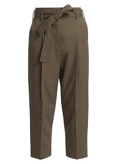 3.1 Phillip Lim Menswear Belted Wool Pants