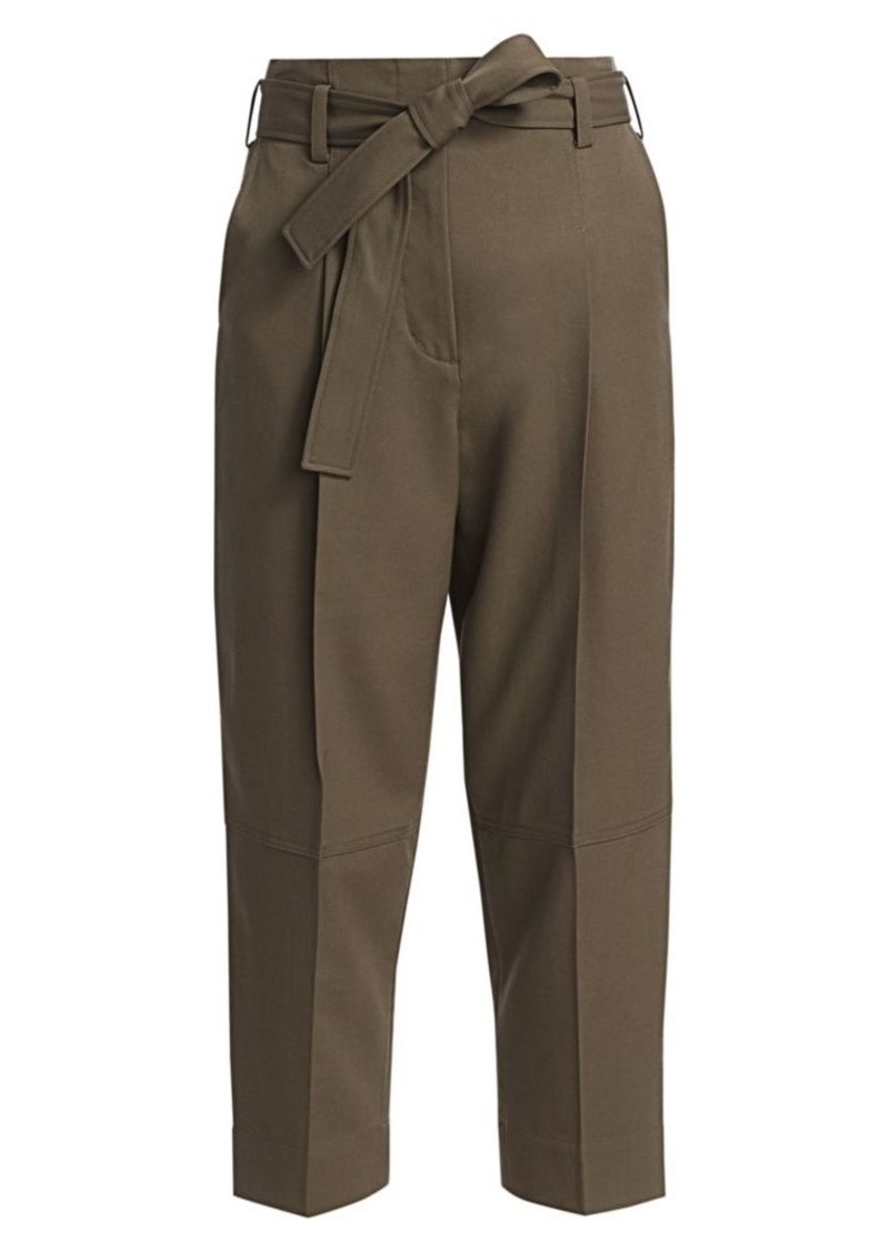 3.1 Phillip Lim Menswear Belted Wool Pants