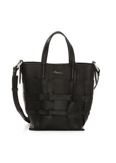 3.1 Phillip Lim Mini Odita Modern Lattice Bucket Bag