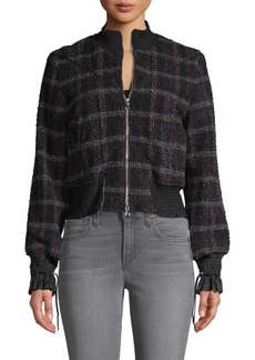 3.1 Phillip Lim Mockneck Tweed Jacket