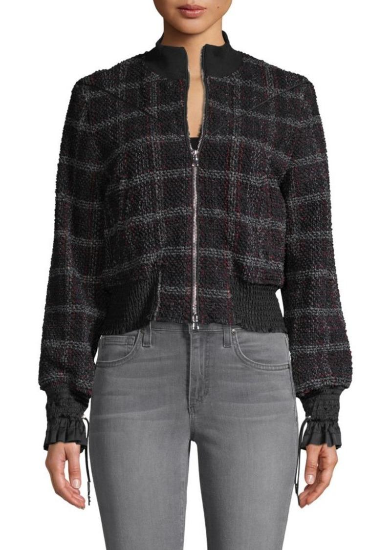 3.1 Phillip Lim Mockneck Tweed Jacket