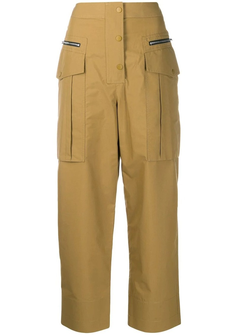 3.1 Phillip Lim multi-pocket cropped trousers