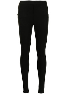 3.1 Phillip Lim zip-cuff jersey leggings