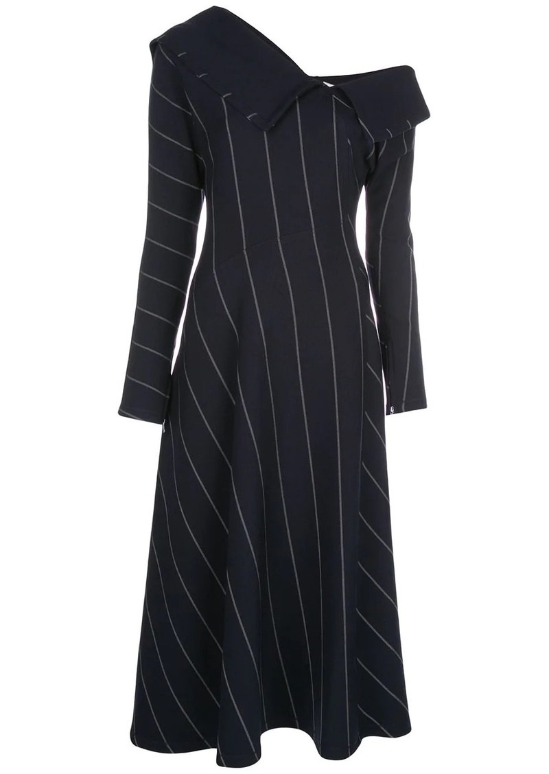 3.1 Phillip Lim off-the-shoulder striped dress