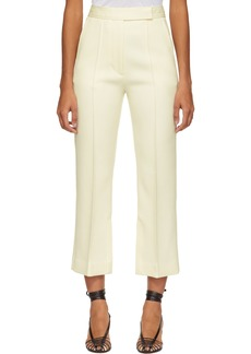 3.1 Phillip Lim Off-White Slit Tailored Trousers