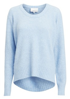 3.1 Phillip Lim Open Neck Blue Sweater