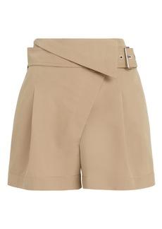 3.1 Phillip Lim Overlap Belted Shorts