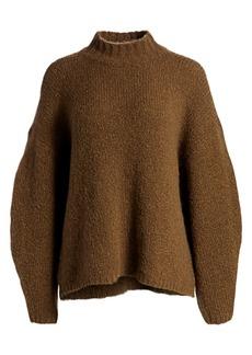 3.1 Phillip Lim Oversized Alpaca-Blend Turtleneck Sweater